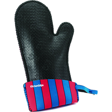 KITCHENGRIPS WOMEN'S RELAXED FIT SINGLE MITT, EXTENDABLE CUTT - CIRCUS