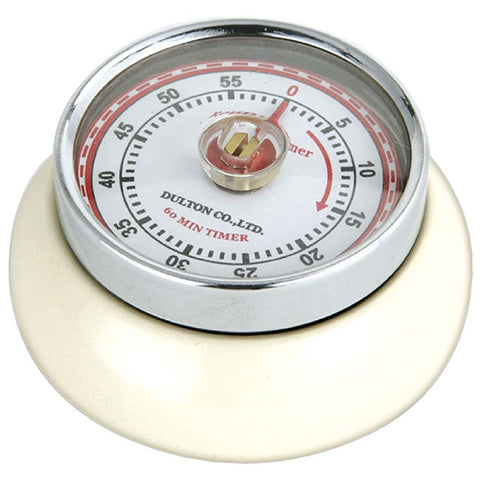 "Zassenhaus Kitchen Timer ""Retro"", Cream"