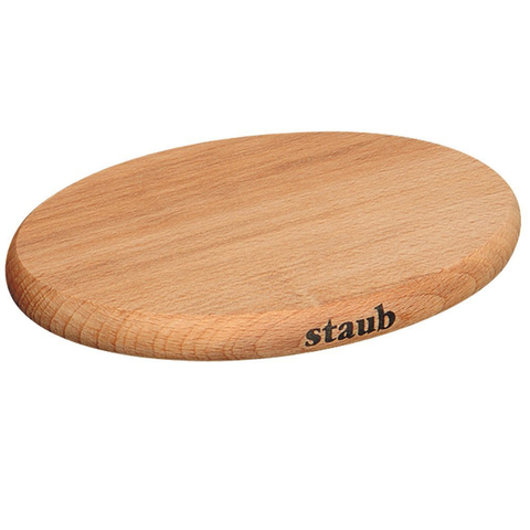 STAUB 8.25'' SMALL MAGNETIC WOODEN TRIVET