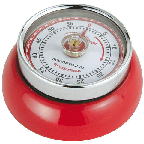 "Zassenhaus Kitchen Timer ""Retro"", Red"