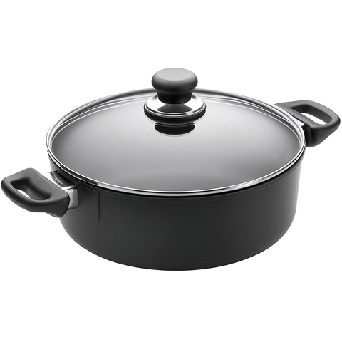 SCANPAN CLASSIC 3 3/4-QUART COVERED LOW STEW POT