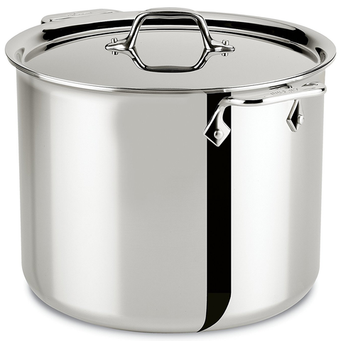 ALL-CLAD STAINLESS STEEL 12-QUART STOCKPOT
