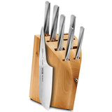 CHROMA TYPE 7-PIECE KNIFE SET WITH BLOCK