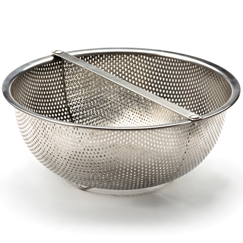 RSVP ENDURANCE® PRECISION PIERCED DIVIDED COLANDER