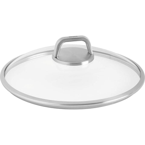 Woll Diamond Lite Pro 8'' Glass Lid Round w/ Vented Knob