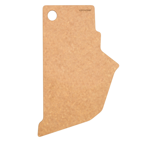 EPICUREAN STATE SHAPE SERIES CUTTING BOARD, RHODE ISLAND