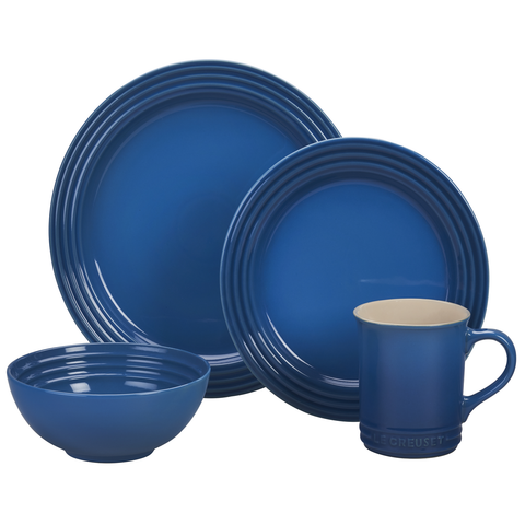 LE CREUSET 16-PIECE DINNERWARE SET - MARSEILLE
