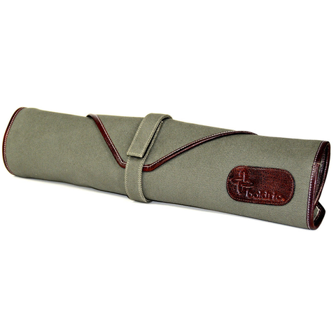 BOLDRIC 6-POCKET CANVAS KNIFE BAG - GREEN