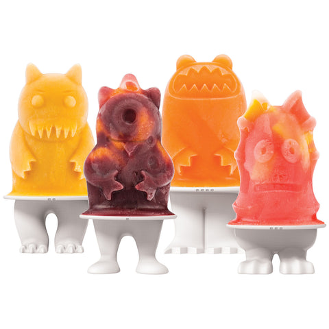 Tovolo Monster Pops Molds, Set Of 4