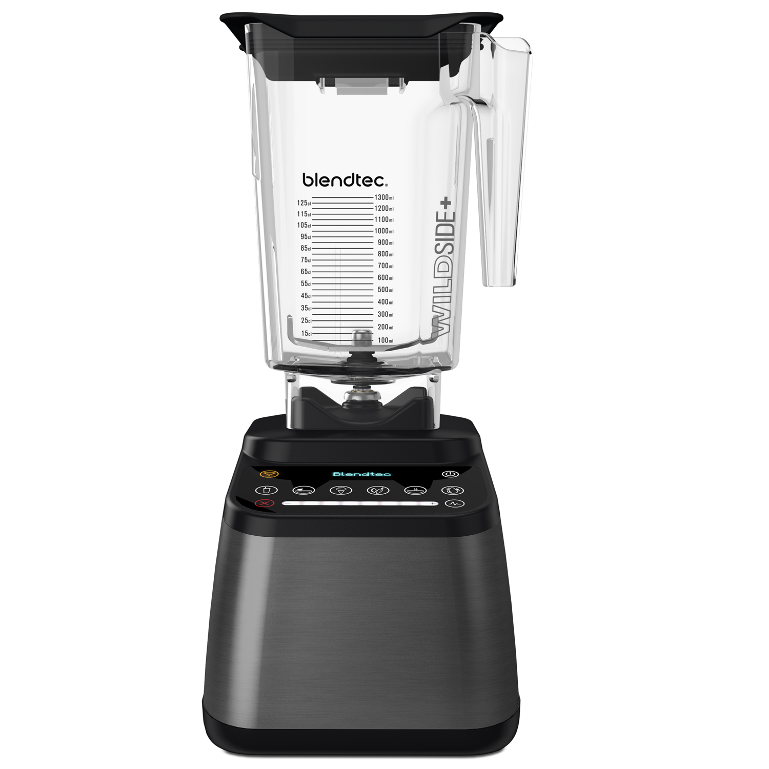 Blendtec Designer 725 Blender with 90 oz WildSide+ Jar, Gunmetal