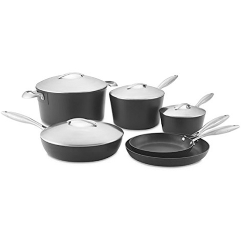 SCANPAN PROFESSIONAL 10-PIECE COOKWARE SET