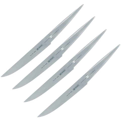 CHROMA TYPE 301 F.A. PORSCHE 4-PIECE STEAK KNIFE SET