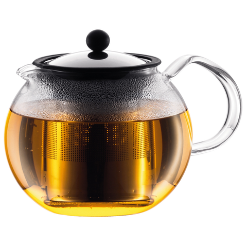 BODUM ASSAM 51-OUNCE TEA PRESS - CHROME