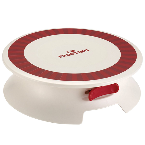 CAKE BOSS CAKE DECORATING TURNTABLE ''I LOVE FROSTING''