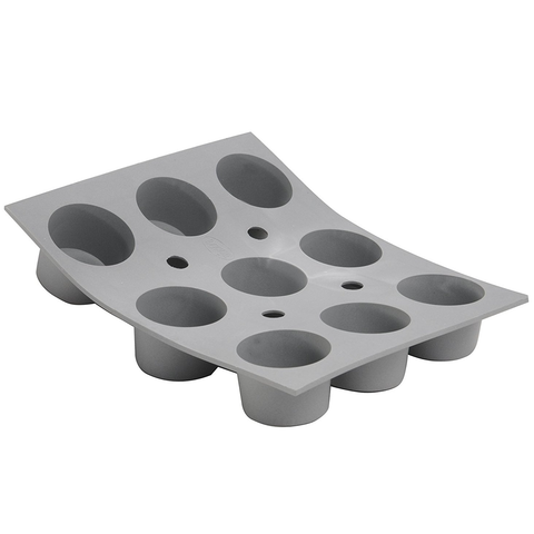 DeBuyer Elastomoule 9-Mini Muffins Silicone Mold