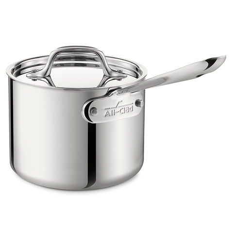 ALL-CLAD STAINLESS 2-QUART SAUCE PAN