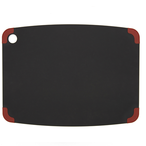 EPICUREAN NON-SLIP 17.5'' X 13'' CUTTING BOARD - SLATE/RED