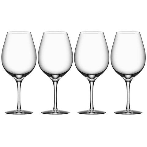 Orrefors More Wine XL, Set Of 4
