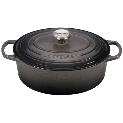 Le Creuset Oval 5-Quart Dutch Oven - Oyster