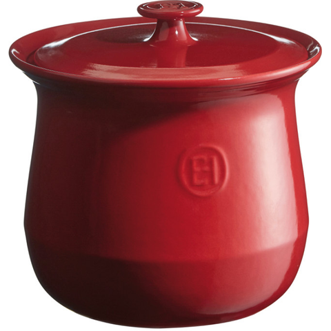 EMILE HENRY SOUP POT - BURGUNDY