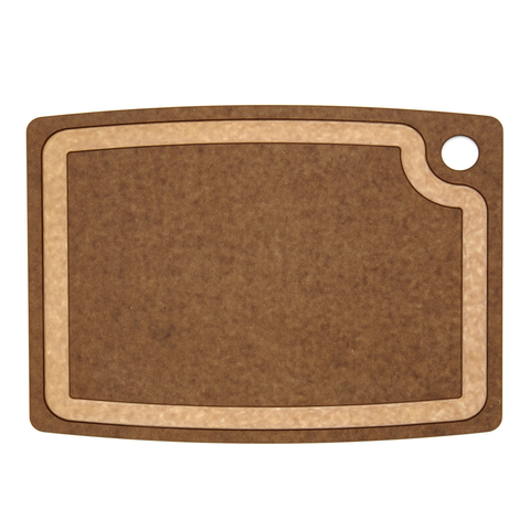 EPICUREAN GOURMET SERIES 14.5'' X 11.25'' CUTTING BOARD - NUTMEG/NATURAL