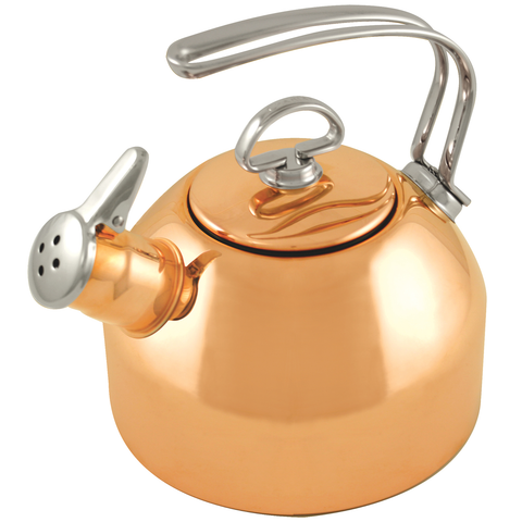 CHANTAL 1.8-QUART CLASSIC COPPER TEAKETTLE