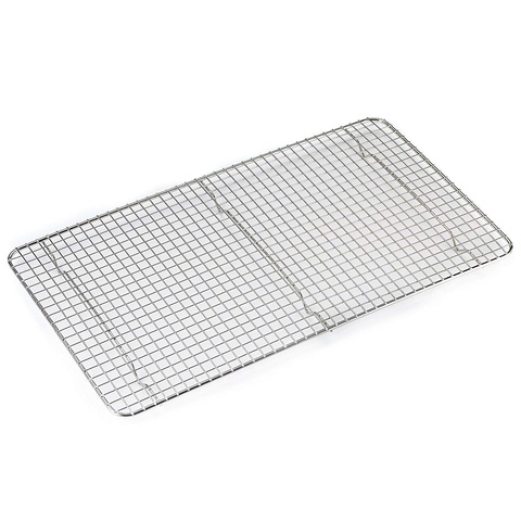 BROWNE 10'' X 18'' FULL SIZE FOOTED PAN GRATE