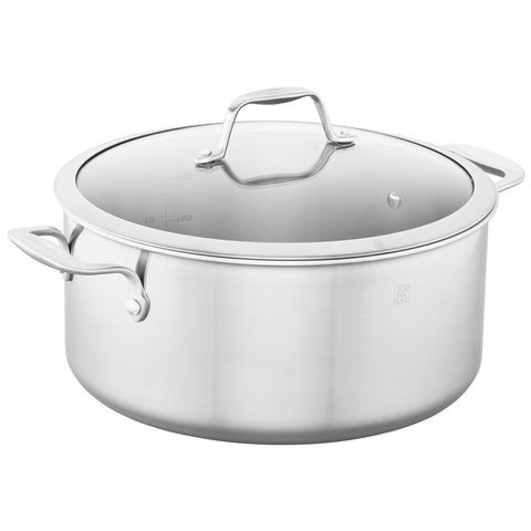 Zwilling J.A. Henckels Spirit 8-Quart Stainless Steel Stock Pot