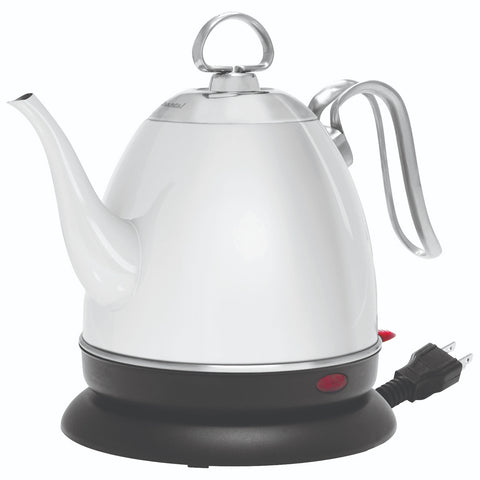 Chantal Mia Ekettle Electric 32-Ounce  Water Kettle - White Finish