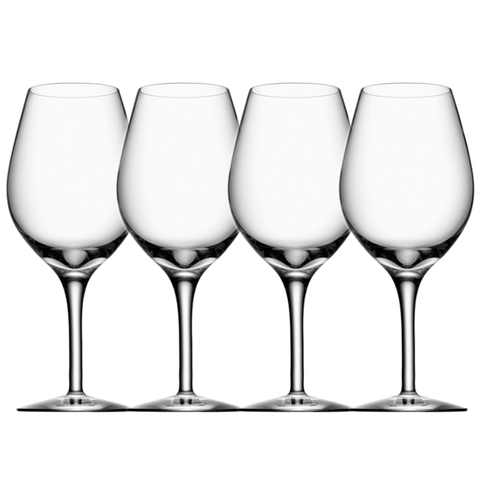 Orrefors Stemware More Wine Set Of 4