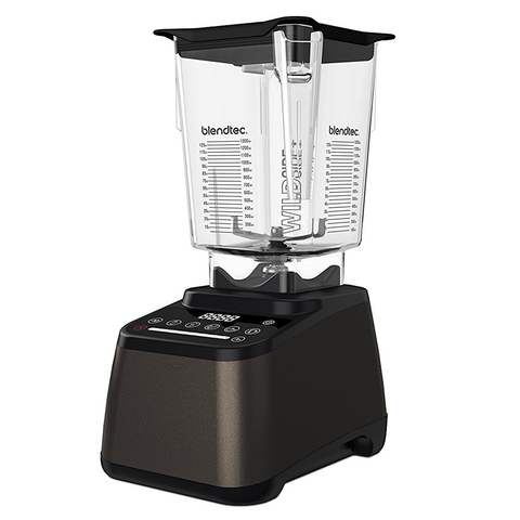 Blendtec Designer 675 Blender with 90oz WildSide+ Jar, Dark Roast