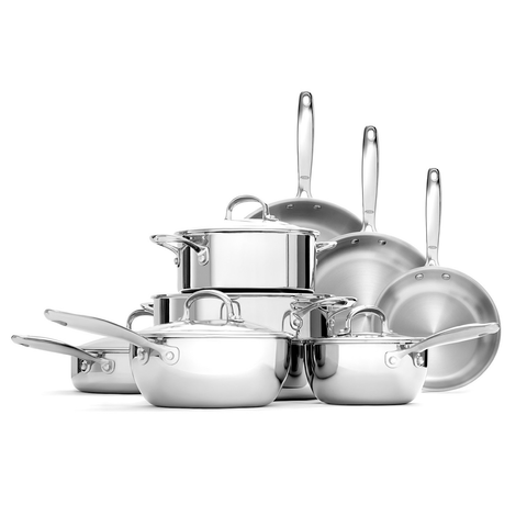 OXO GOOD GRIPS TRI-PLY STAINLESS STEEL PRO 13-PIECE SET