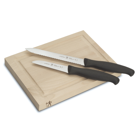 J.A. Henckels International 3-Piece Bar Knife & Board Set