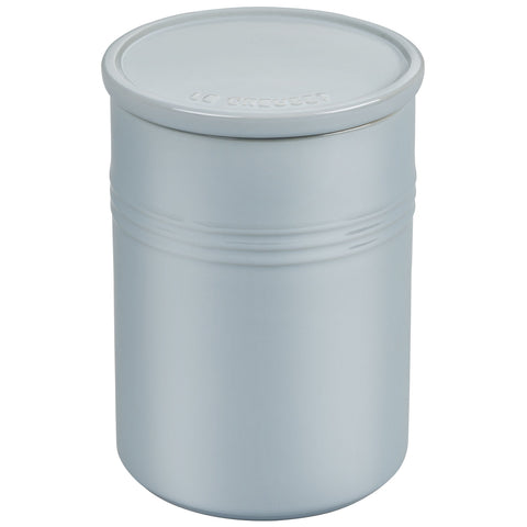 Le Creuset 2.5-Quart Canister with Stoneware Lid - Metallic Coastal