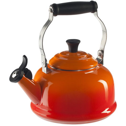 LE CREUSET 1.8-QUART CLASSIC WHISTLING KETTLE - FLAME