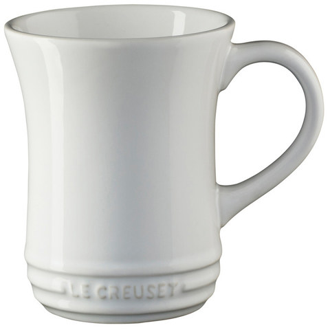LE CREUSET 14-OUNCE TEA MUG - WHITE