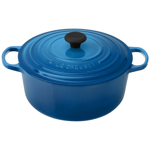 LE CREUSET 7.25-QUART ROUND DUTCH OVEN - MARSEILLE