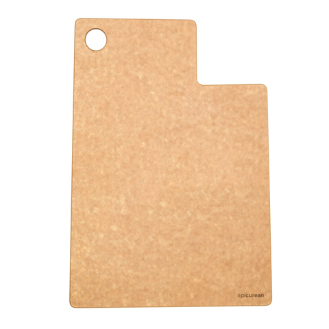 EPICUREAN STATE SHAPE 13.5'' X 9.75'' CUTTING BOARD - UTAH