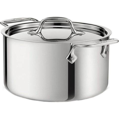 ALL-CLAD STAINLESS STEEL 3-QUART CASSEROLE WITH LID