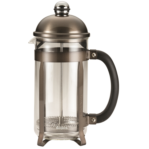 BONJOUR 8-CUP MAXIMUS FRENCH PRESS - TRUFFLE