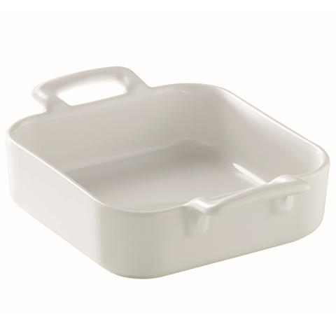 REVOL BELLE CUISINE SQUARE PORCELAIN SERVING DISH