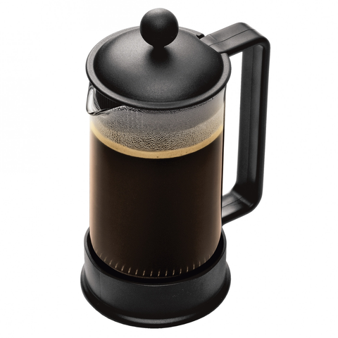Bodum Brazil 3-Cup Shatterproof SAN French Press, Black