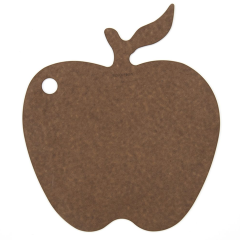 EPICUREAN CUTTONG SURFACES NOVELTY SERIES  CUTTING BOARD - APPLE NUTMEG