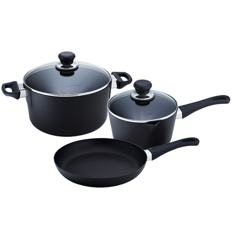 SCANPAN CLASSIC 5-PIECE COOKWARE SET
