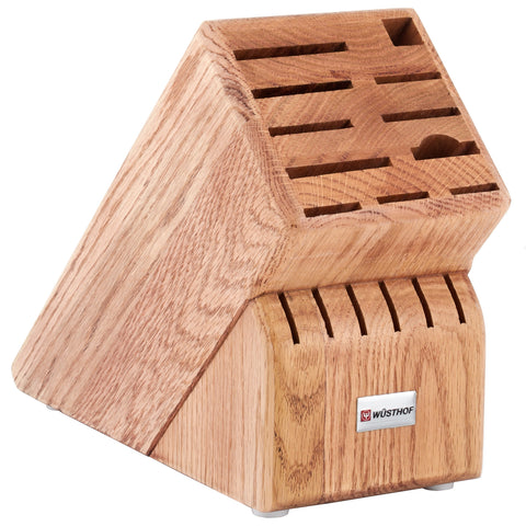 Wusthof 17-Slot Storage Block - Oak