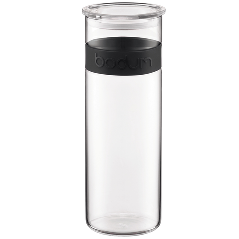 Bodum Presso 64-Ounce Storage Jar, Black