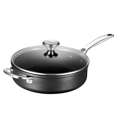 LE CREUSET 4 1⁄4 QUART TOUGHENED NONSTICK  SAUTE PAN
