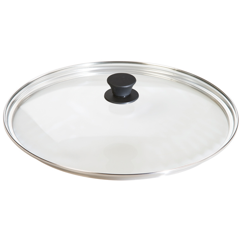 LODGE 12'' TEMPERED GLASS LID