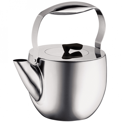 BODUM COLUMBIA 51-OUNCE TEA PRESS - CHROME