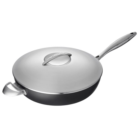 SCANPAN PROFESSIONAL 3.5-QUART COVERED SAUTE PAN